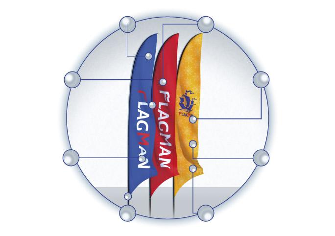 флаг парус